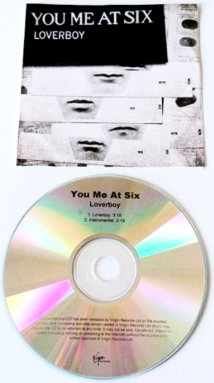 You Me At Six - Loverboy (CD Single) (Promo) (VG-/VG)
